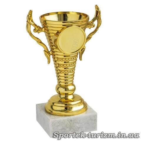 Кубок за 1 место (золото) высотой 12 см