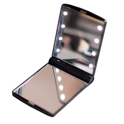 Складное зеркало с подсветкой