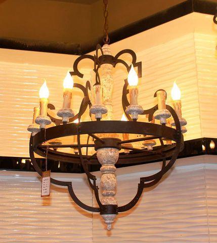 vintage chandelier 50-75 ( by Funky Vintage )