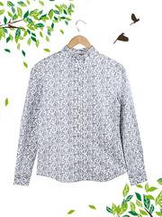 21035 рубашка женская, белая