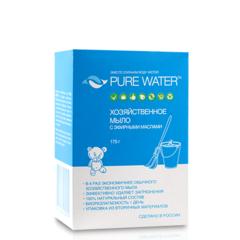 Хозяйстенное мыло с эфирными маслами, 175гр, ТМ Pure Water