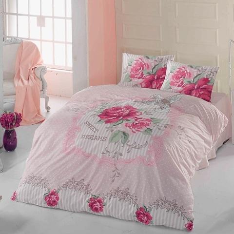 1.5-Спальное постельное белье ранфорс Mia