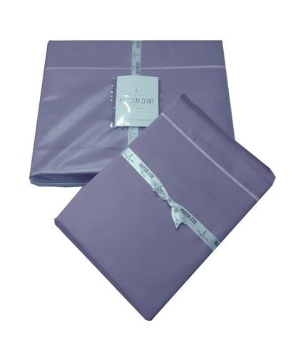 Наволочки 50х70-2шт фиолетовая сатин Maison Dor Турция