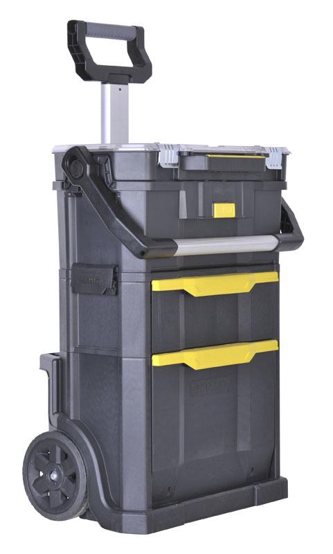 Ящик с колесам для инструментов модульный 2 в 1  Stanley 1-79-231