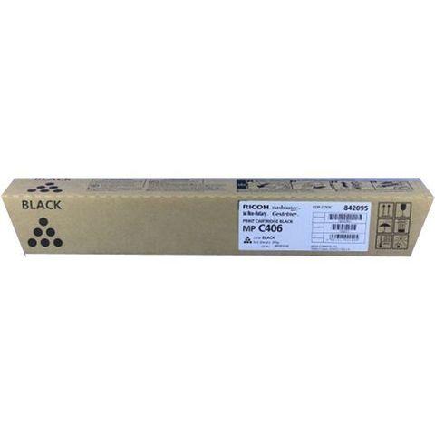 Тонер-картридж Ricoh тип MPC406 черный для Ricoh MP C306, C307, C406, C407. Ресурс 17000 стр (842095)