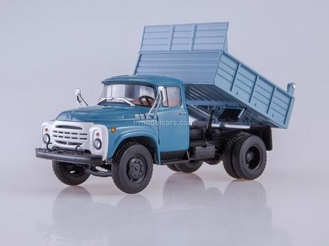 ZIL-MMZ-4502 tipper blue 1:43 AutoHistory