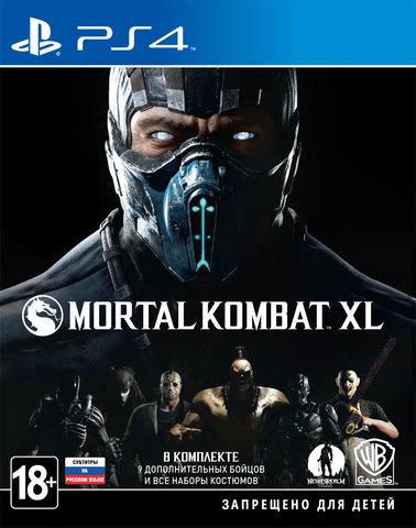 PS4 Mortal Kombat XL (русские субтитры)