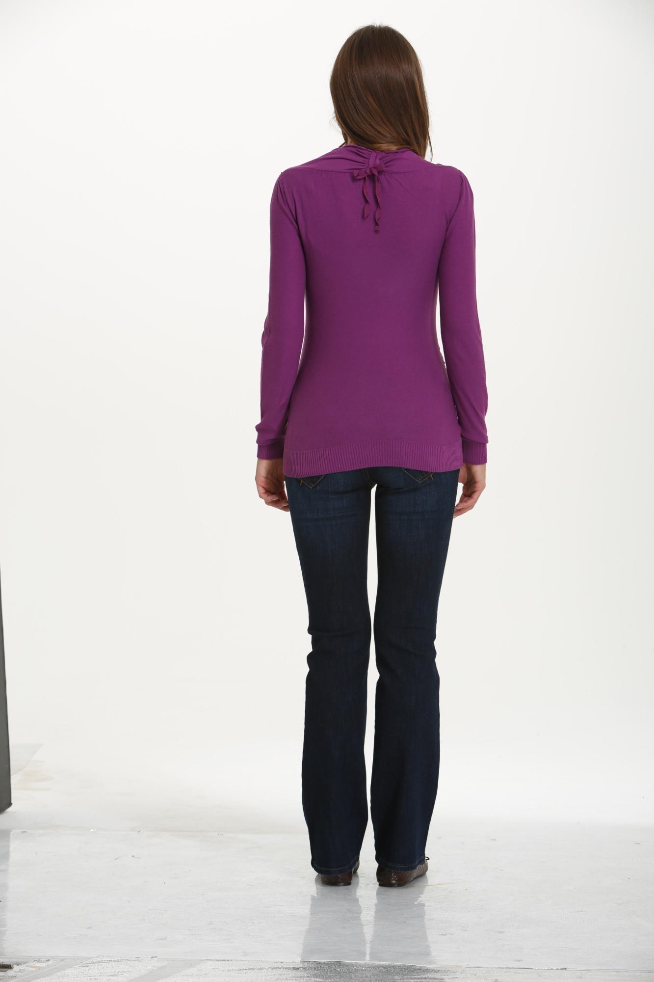 Блуза 03792 фиолетовый