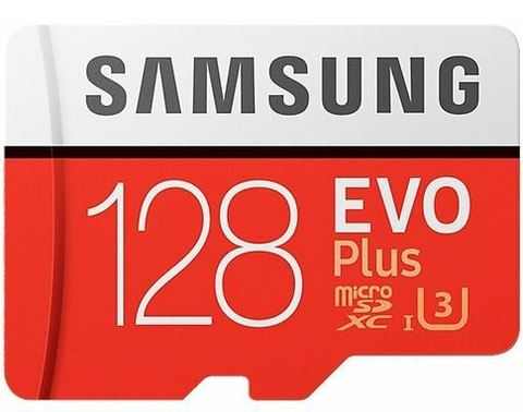 Карта памяти 128GB microSDXC Samsung EVO+