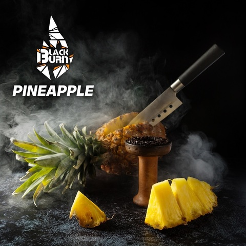 Табак Burn Black Pineapple (Ананас) 100 г