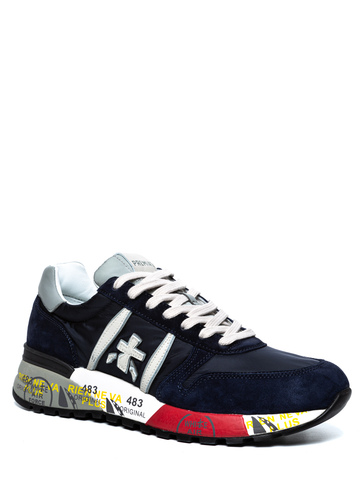Комбинированные кроссовки Premiata Lander 3756