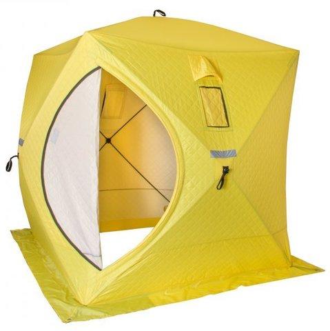 Палатка зимняя КУБ утепленная 1,8х1,8м Helios