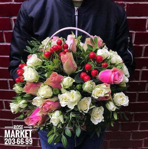 Цветы в корзинке #15392