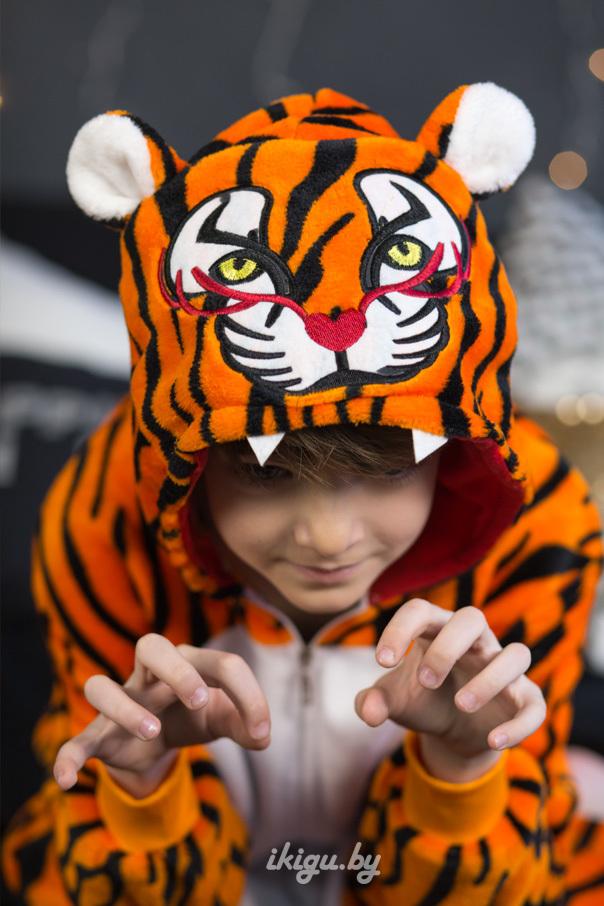 """Детские пижамы кигуруми """"Красный тигр"""" tiger.jpg"""