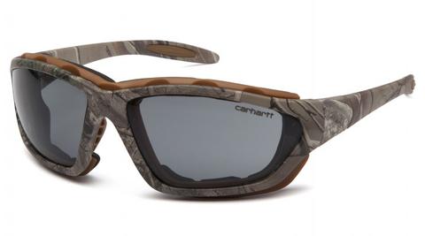 Очки тактические Pyramex Carthage CHRT420DTP (ANTI-FOG) Камуфляж серые 23%
