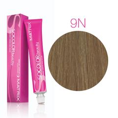 Matrix Socolor Beauty 9N очень светлый блондин, стойкая крем-краска для волос 90 мл