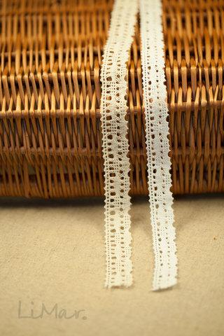 Хлопковое кружево 18 мм, 2 цвета