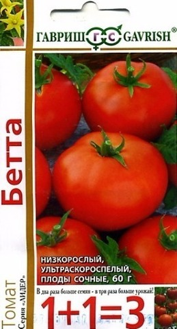 Семена Томат Бетта