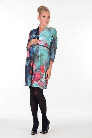 Платье 05704 разноцветный