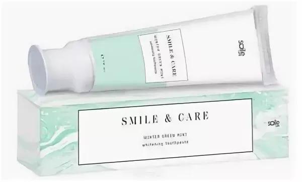 Зубная паста отбеливающая SMILE & CARE Winter Green Mint, 70 ml