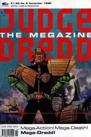 Judge Dredd Megazine #2
