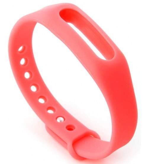 Силиконовый ремешок для Xiaomi Mi Band 2 (розовый)