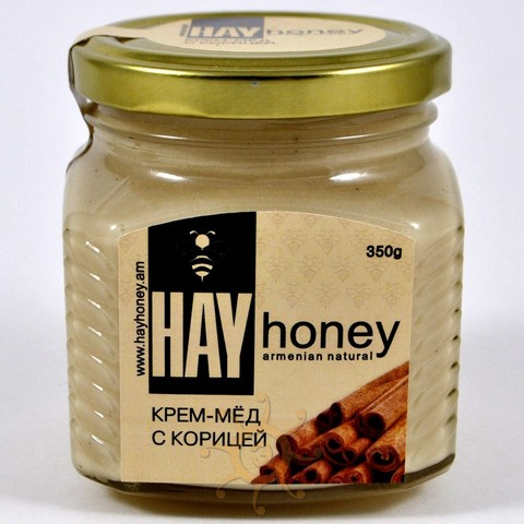 Крем-мёд с корицей Hay Honey, 350г