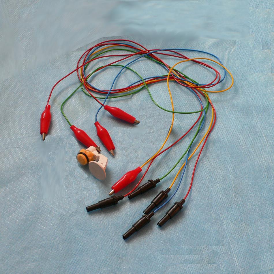 Провод (кабель) для электродов ЭЭГ разъем