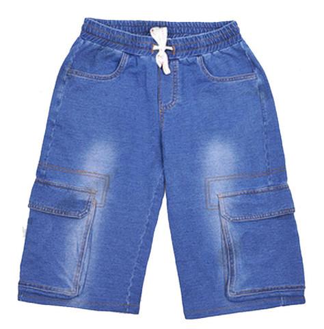 FOX KBS13-91252 Бриджи для мальчика джинс