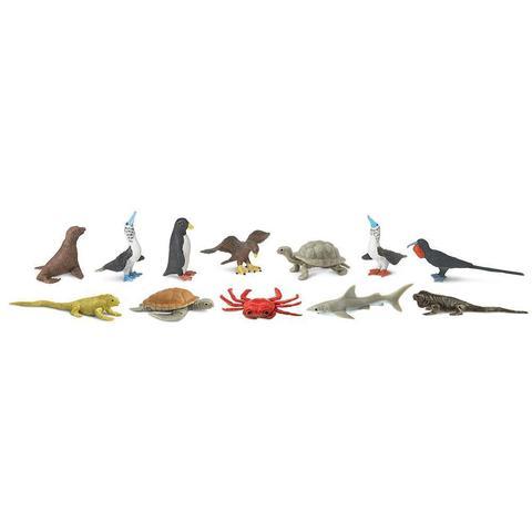 Набор фигурок Обитатели Галапагосов, Safari Ltd.