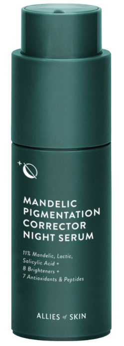 Allies of Skin Mandelic Pigmentation Corrector Night Serum cыворотка от пигментации 30 мл