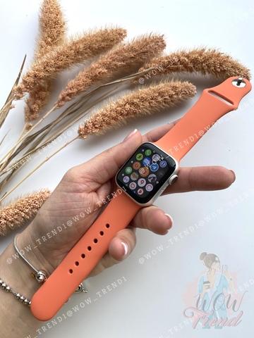 Ремешок Apple watch 42/44mm Sport Band /orange clementine/ S