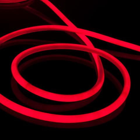 Набор гибкого неона круглого красного 10 м 9,6 Вт/м 120 LED 2835 IP67 16 мм LS002 220V