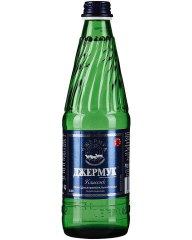 Вода Джермук газированная, 0,5л (стекло)