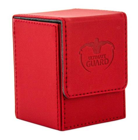 Ultimate Guard - Коробочка XenoSkin красного цвета на 100+ карт для Коммандера