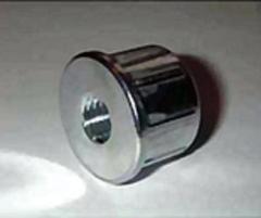 Втулка упор цилиндрическая с  резьбой М8