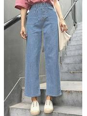 5598 джинсы женские, голубые
