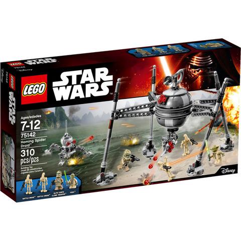 LEGO Star Wars: Самонаводящийся дроид-паук 75142 — Homing Spider Droid — Лего Звездные войны Стар Ворз