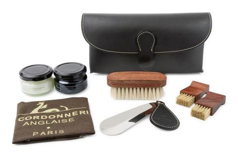 Набор обувной косметики, кожа La Cordonnerie Anglaise (LCA)  (картридж)