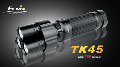 Фонарь Fenix TK45 (Cree R5, 760 лм, 8xAA)