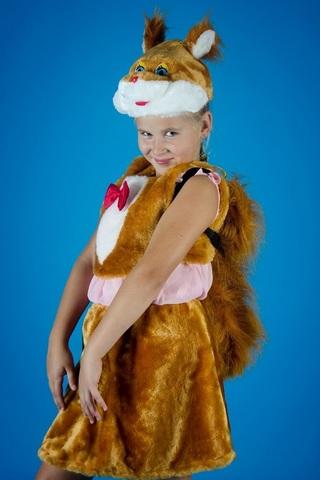 Карнавальный костюм Белочки 1