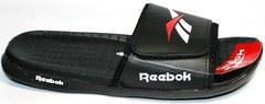 Модные сланцы мужские Reebok SS-796Black.