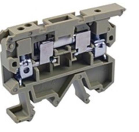 Зажим наборный ЗНИ 4мм2 для плавких вставок 5х20 500В TDM
