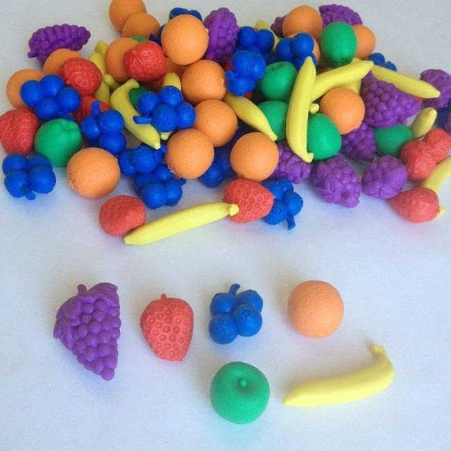 фигурки фруктов