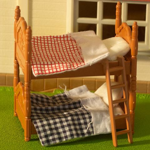 Игрушечная двухэтажная кровать Нарру family 012-02B (PT-00303)