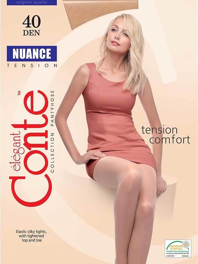 Женские колготки Nuance 40 XL Conte