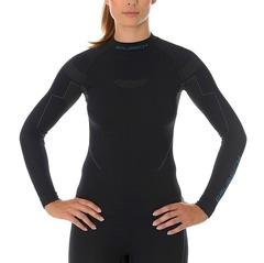 Женская термофутболка с длинным рукавом Brubeck Thermo черная