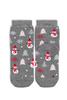 Носки детские, махровые Снеговики