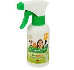 Био-спрей GreenFort Neo для кошек, кроликов и собак от клещей, блох, вшей, власоедов, комаров, слепней 200 мл