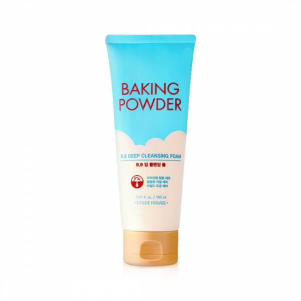 Очищающая пенка для снятия ББ-крема с содой Etude House Baking Powder B.B Deep Cleansing Foam